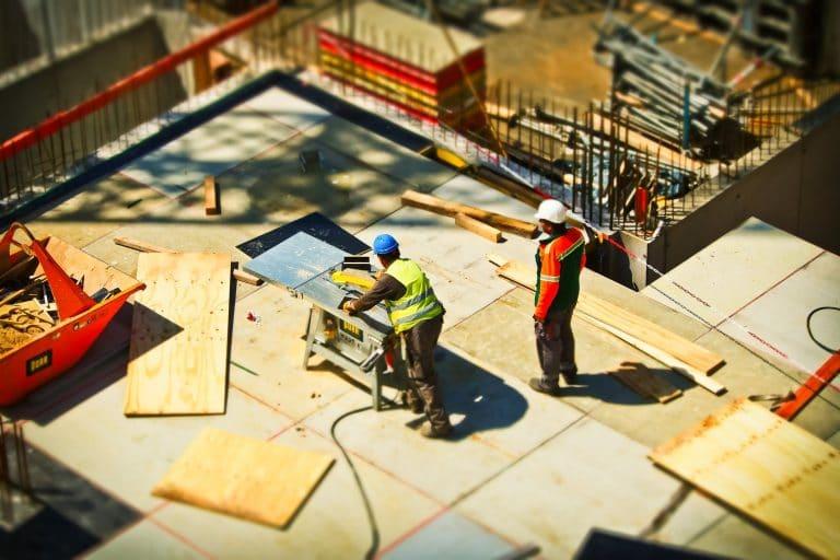 gevaren in de bouw